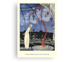 Old French Fairy Tales: A Tree of Marvelous Beauty Canvas Print