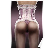 Lady in pink [Boris Valleyo inspiration] Poster