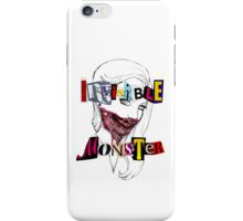 Invisible Monster iPhone Case/Skin