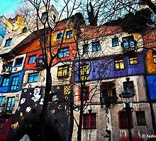 hundertwasserhaus, Wien by Federica Dell'Isola