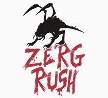 ZERG Rush by thevillain