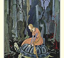 Old French Fairy Tales: Through the Forest by LireBooks