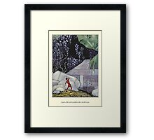 Old French Fairy Tales: The Wall Crumbled Framed Print