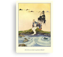 Old French Fairy Tales: In My Domain Canvas Print