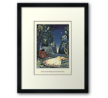 Old French Fairy Tales: The Night in the Forest Framed Print