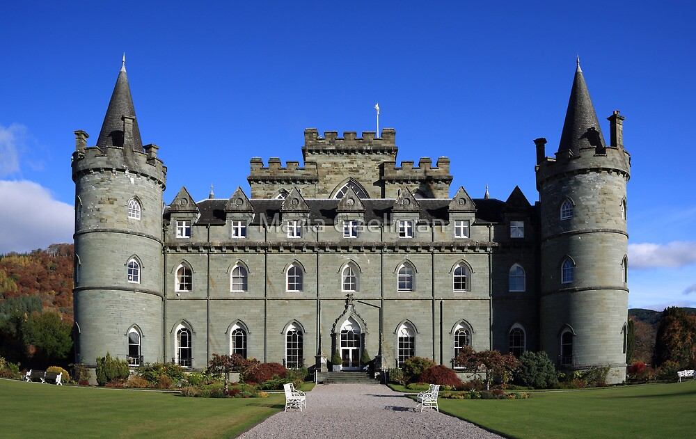 Inveraray Castle by Maria Gaellman