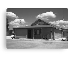 Route 66 - Old Log Cabin Canvas Print
