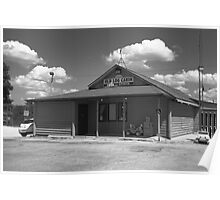 Route 66 - Old Log Cabin Poster