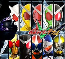 Kamen Rider W - All Rider Forms by Eiji Hino