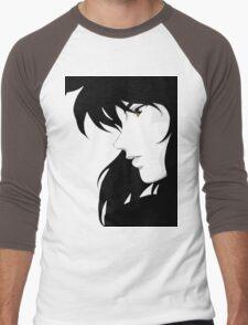 Ghost in the Shell - Major Motoko Kusanagi (RENDER) Men's Baseball ¾ T-Shirt