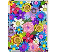 Cute retro flowers case iPad Case/Skin