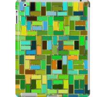 colorful tiles iPad Case/Skin