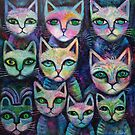 10 Alley cats by Karin Zeller