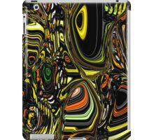 Abstract lines and circles iPad Case/Skin