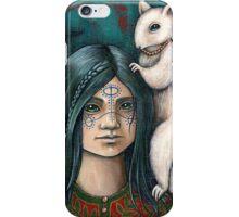 Lyra and Koti (Card) iPhone Case/Skin
