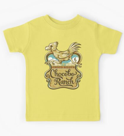Choco Billy's Chocobo Ranch Kids Clothes