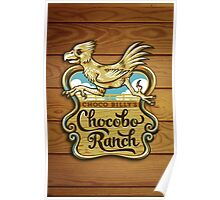 Choco Billy's Chocobo Ranch Poster
