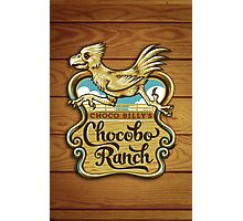 Choco Billy's Chocobo Ranch Photographic Print