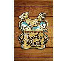 Choco Billy's Chocobo Ranch Photographic Print