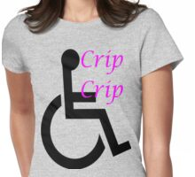 Cripple Swag Womens Fitted T-Shirt