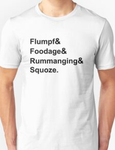 Karl Pilkington Vocabulary T-Shirt