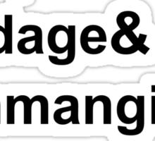 Karl Pilkington Vocabulary Sticker