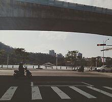Da Hu park by Mimi Huang