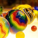 Rainbow Balls by tigerwings