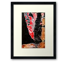 Red Devil Framed Print