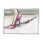 High Heel (Preliminary Sketch) by Lindsey Butler