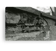 Erosion [1/5] (35mm Film) - Philadelphia, PA Canvas Print