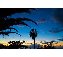 Sunset in Tenerife Photographic Print