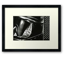 Metallic Reflections [2/8] (35mm Film) Framed Print