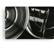 Metallic Reflections [3/8] (35mm Film) Canvas Print