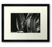 Metallic Reflections [4/8] (35mm Film) Framed Print