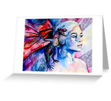Daenerys Targaryen - game of thrones  Greeting Card