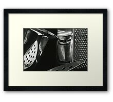 Metallic Reflections [7/8] (35mm Film) Framed Print