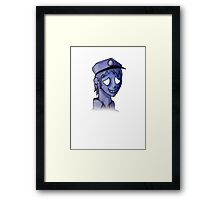 Hello there!  My name is Vincent... Framed Print