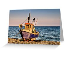 Fishing Boat Greeting Card