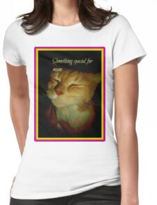 Something Special for mum Womens Fitted T-Shirt
