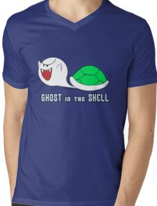 Boo in the Shell Mens V-Neck T-Shirt