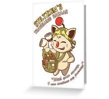 Stiltzkin's Travelling Bazaar Greeting Card