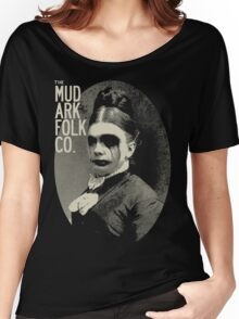 mudarkfolk Women's Relaxed Fit T-Shirt