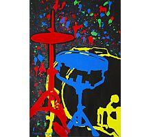 Drums Set Photographic Print