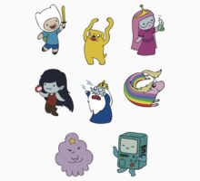 Adventure Time Teenies! by TipsyKipsy