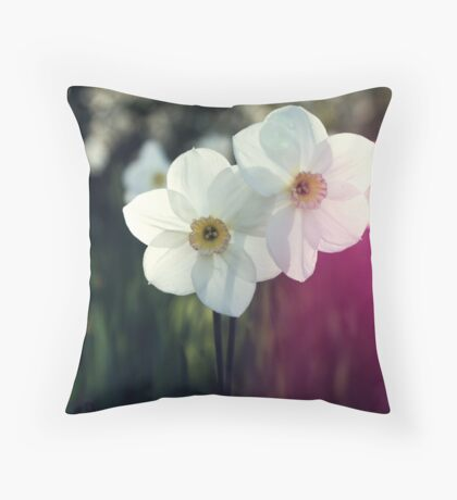 In the meadow... Throw Pillow