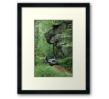 Jeep Wrangler  Framed Print