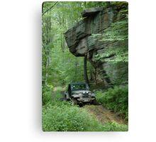 Jeep Wrangler  Canvas Print