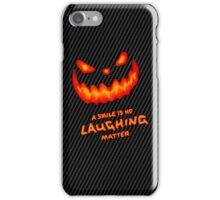 No Laughing Matter - Halloween iPhone Case/Skin