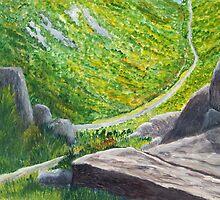 Rocky View by Gary Adams